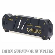 Camillus GLIDE SHARPENER - Ceramic Carbide Knife Scissors Sharpening Multi Tool