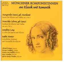 CD Münchner Komponistinnen aus Klassik und Romantik