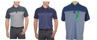 NEW Bollé Men's Colorblock Performance Polo Shirt - XL / XXL