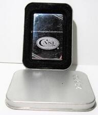 2011 Case XX Cut Cornered Zippo Lighter w/ Collectors Tin