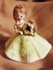 Josef originals birthday figurines Green Birthstone Doll