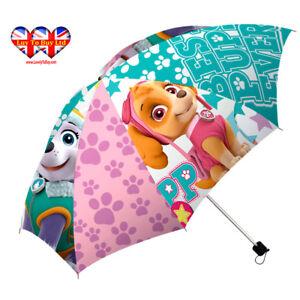 Children Folding Umbrella  Paw Patrol Skye& Everest Umbrella,Official Licensed