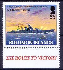 Tokyo Express, War Ships, World War II, Solomon 2005 MNH  -Ws18