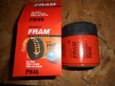Engine Oil Filter Fram PH46. Listing is for 2 filters