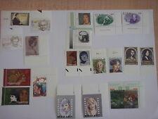 1996 EUROPA CEPT lotto 21 francobolli vari Paesi NUOVI GOMMA INTEGRA MNH bordo