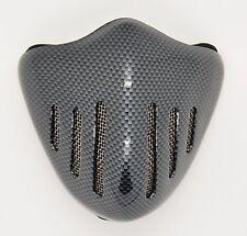 NEW Kevvlar Pattern Half Face Mask Filter Motorcycle Biker Cycling Ski Snowboard