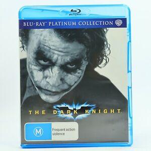 The Dark Knight Blu Ray Christian Bale Heath Ledger Platinum Collection GC