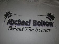 Michael Bolton Behind The Scenes Vintage T