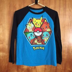 Pokemon Pokémon Long Sleeve T Shirt Tshirt Youth Kids Size M (10/12)