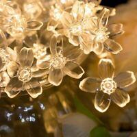 30/50LEDs Battery Flower Fairy String Lights Indoor/Outdoor Party Wedding UK