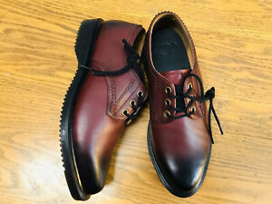Dr. Martens Trulia women's oxford lace up cherry red leather shoes NWOB sz 5