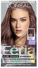 L'Oreal Paris Feria Permanent Hair Color, 721 Dusty Mauve