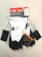 The North Face TNF Women's Montana GORE-TEX Winter Gloves, White/Black, Small