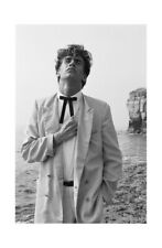 More details for the pop group - mark stewart's black and white portrait england 1978 print 4