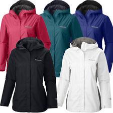"New Womens Columbia ""Arcadia II"" Omni-Tech Waterproof Rain Jacket"