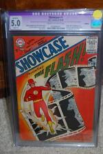 Showcase #4 CGC 5.0 (R) DC 1956 Origin & 1st Appearance Flash! JLA TV! D5 221 cm