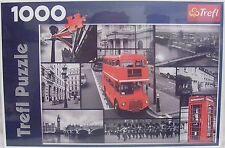 Bus Londra Collage Puzzle ~ 1000 PEZZI Trefl ~ NUOVO