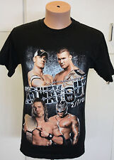 THE UNDERTAKER JOHN CENA WWE WWF NO WAY OUT T-SHIRT ADULT S 2008 New NO TAG