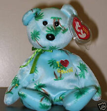Ty Beanie Baby ~ I LOVE HAWAII the Bear ~ Exclusive ~ MINT with MINT TAGS