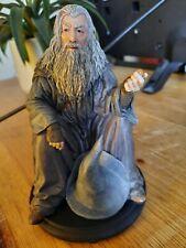 More details for lord of the rings / hobbit - gandalf weta genuine statue miniature figure uk