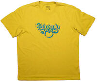 PATAGONIA Short Sleeve Men's T-Shirt Vintage Logo 1970s Mustard Yellow Large L