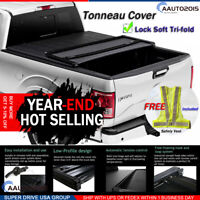 Fits 2005-2015 Toyota Tacoma 5ft Short Bed Assemble Soft Tri-fold Tonneau Cover