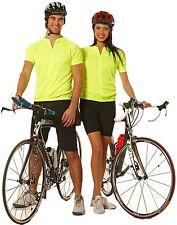 Unisex Adults Short Sleeve Half Zipper Cycling Jerseys