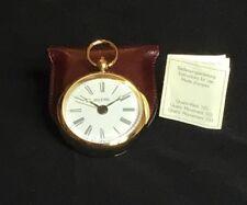 Gold Pfeil Brand Vintage Rare Pocket Alarm Clock Watch Circa 1998 German Made