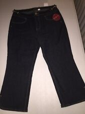 KIKIT NWT Woman's Dark Wash Jeans size 10 MSRP $38