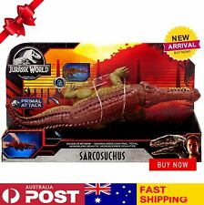 Jurassic World Fallen Kingdom Primal Attack Sarcosuchus Action Figure | NEW