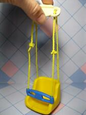 LITTLE TIKES DOLL HOUSE Sized Replacement Blue & Yellow dollhouse BABY SWING
