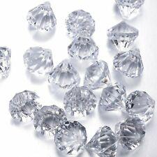Acrylic Diamond Decorations Christmas Tree Decorations Hanging Crystal Jewels 12