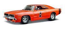 Dodge Cargador R/T 1969 En Harley-Davidson diseño escala 1:25 DE MAISTO