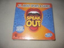 Hasbro Gaming Speak Out Expansion Pack All About Sports and Games ~ 3625