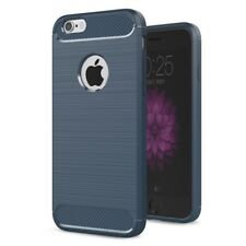 For iPhone 6 & iPhone 6S - Shockproof Soft TPU Carbon Fiber Case Cover