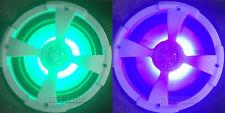 """POWERBASS XL-82M 8"""" 2-WAY MARINE ATV UTV BOAT WHITE SPEAKERS RGB ILLUMINATION"""