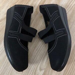 Women Leather Orthopaedic Diabetic Wide Leather MEMORY FOAM Hospital Nurse Shoe