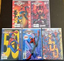 Ultimate Spider-Man Key Lot x5 Comics Annual #1 & 2 #50 #75 #100 High Grade Nm