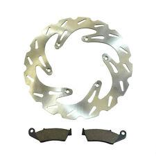 Front Wave Disc Brake Rotor & Brake Pads Suzuki 1996-2008 RM125, RM250 & RMX250