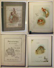 Lawson Schlauköpfchen Alte und neue Sinnsprüche um 1890 Geschichten Kinder xy