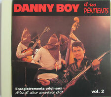 "DANNY BOY ET SES PENITENTS - RARE CD ""VOL 2"" - FRENCH ROCKABILLY"