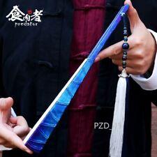 SUPER Titanium Alloy Martial Arts Folding Fan Generates Iron Buddha Taiji Fan
