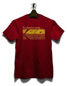 Kodachrome Film Vintage T-Shirt Analog Fotografie 70er 90er 80er Vintage Retro