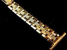Vintage NOS Mens 10K Yellow GF Speidel watch band bracelet 1940s 19mm 3/4 inch