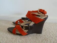 OROTON SHOES Leather Wedge Heels Size 36.5 6