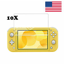 10x For Nintendo Switch Lite Clear Soft Screen Protector Guard Film Skin Cover