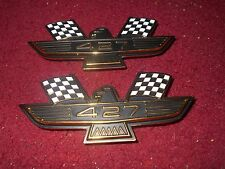 1963 1964 FORD GALAXIE 427 EAGLE PERFORMANCE BIRD EMBLEMS SET PAIR NEW VINTAGE