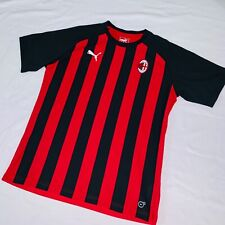 NWOT Puma AC Milan ACM Soccer Jersey Glanz Sexy Red Black Small