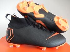 NIKE JR SUPERFLY 6 ELITE FG BLACK-TOTAL ORANGE SZ 5Y-WOMENS SZ 6.5 [AH7340-081]