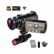 4K Wifi Full Spectrum Camcorders, Ultra HD Infrared Night Vision Paranormal I...
